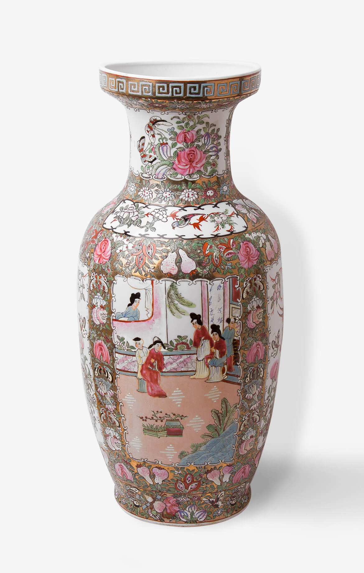 Intricate work of art on the vase